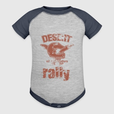 DESERT RALLY motocycle - Baby Contrast One Piece