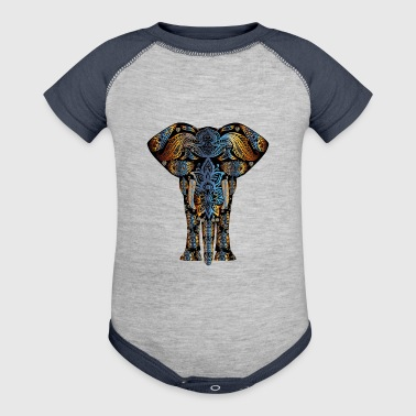 decorative elephant - Baby Contrast One Piece