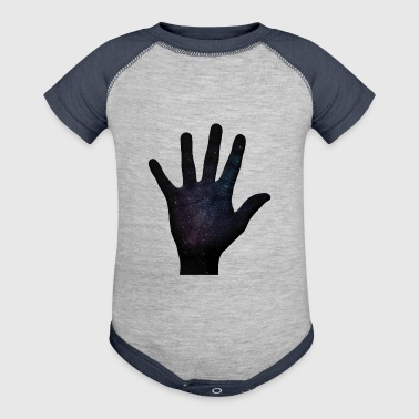 cosmic hand - Baby Contrast One Piece