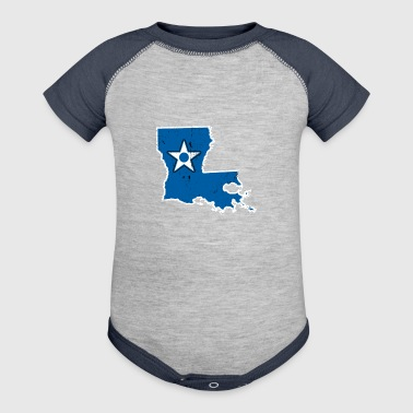 Louisiana Air Force Proud Air Force Wife - Baby Contrast One Piece