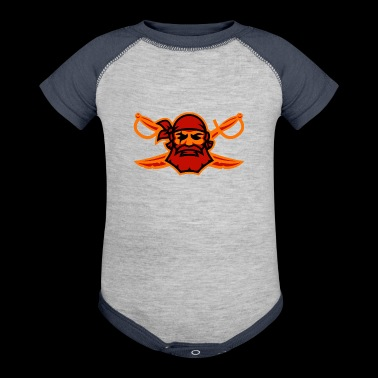 Pirate - Baby Contrast One Piece