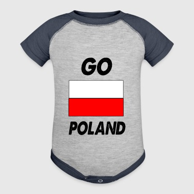 go poland - Baby Contrast One Piece