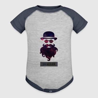 SWAGGER- Beard Swagg - Baby Contrast One Piece