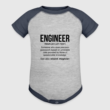Engineer - Baby Contrast One Piece
