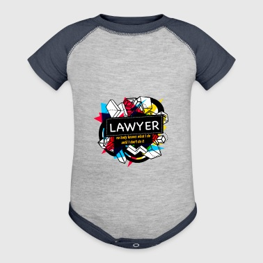 LAWYER - Baby Contrast One Piece