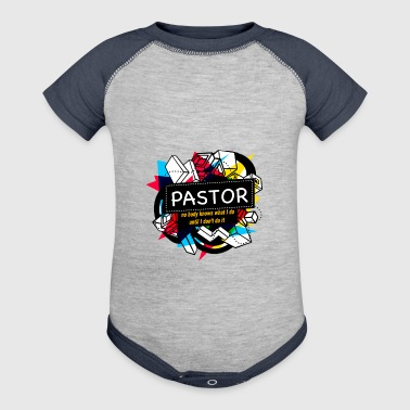 PASTOR - Baby Contrast One Piece