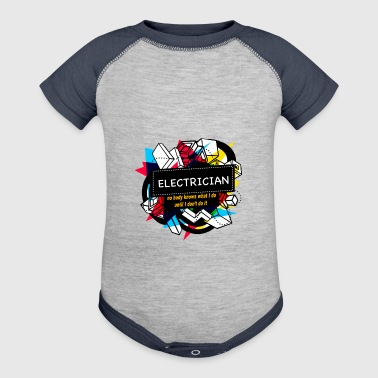 ELECTRICIAN - Baby Contrast One Piece