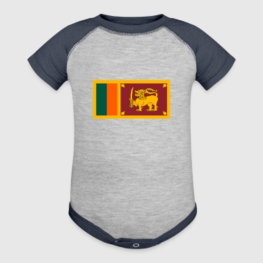 National Flag Of Sri Lanka - Baby Contrast One Piece