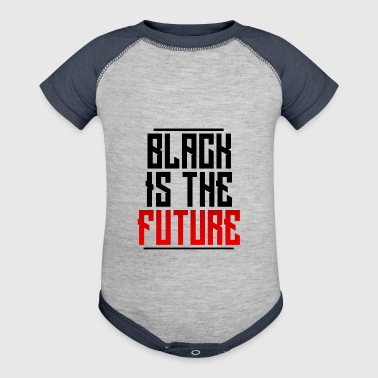 Black Is The Future - Baby Contrast One Piece