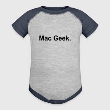 MAC GEEK - Baby Contrast One Piece