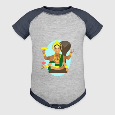 Lord Shiva - Baby Contrast One Piece