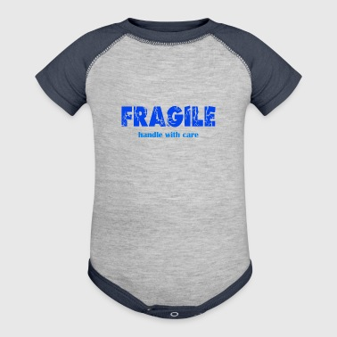 Fragile - Baby Contrast One Piece