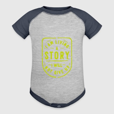 lettering - Baby Contrast One Piece