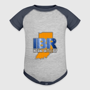 IBR (INDIANA BATTLE RAP) LOGO - Baby Contrast One Piece
