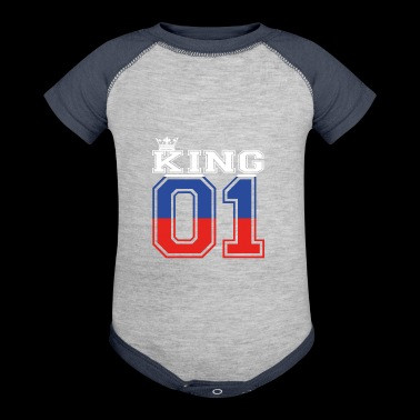 land partner king 01 prince Russland - Baby Contrast One Piece