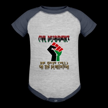 CIVIL disobedience - Baby Contrast One Piece