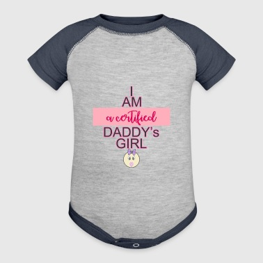 daddys girl - Baby Contrast One Piece