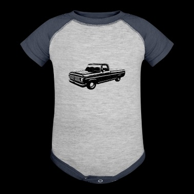Pickup truck - Baby Contrast One Piece