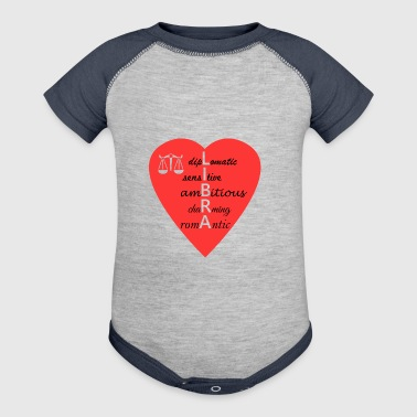 Libra Love Shirt/Hoodie-Sensitive, Romantic- Gift - Baby Contrast One Piece