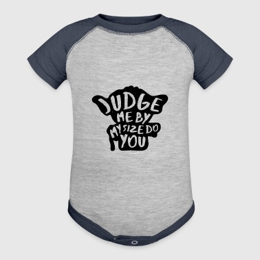 Judge Me Not - Baby Contrast One Piece