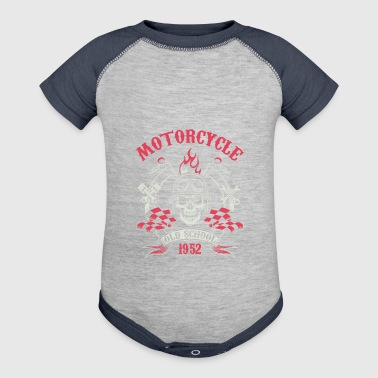 Motocycle Tshirs - Baby Contrast One Piece