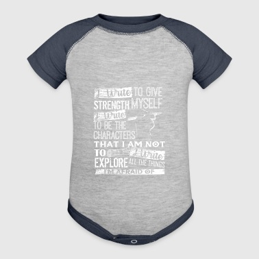 Writer Shirt - Baby Contrast One Piece