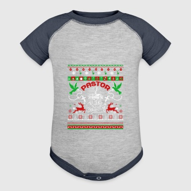 Pastor Shirt - Pastor Christmas Shirt - Baby Contrast One Piece