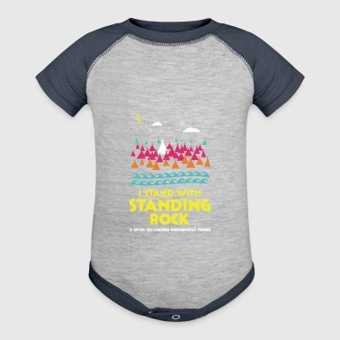 Stand With Standing Rock Shirt - Baby Contrast One Piece