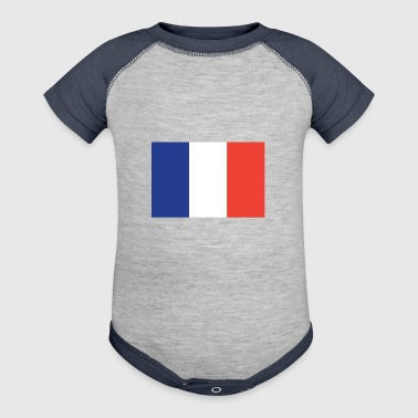 Flag of France Cool French Flag - Baby Contrast One Piece
