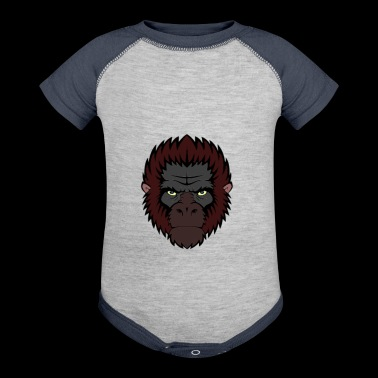 ape - Baby Contrast One Piece