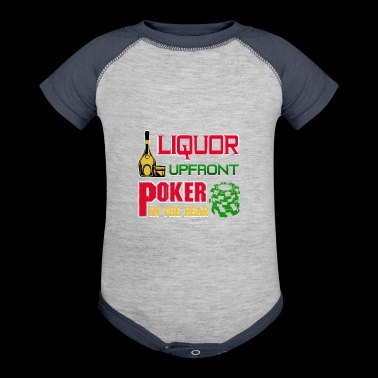 Liquor Upfront Poker in the Rear - Baby Contrast One Piece