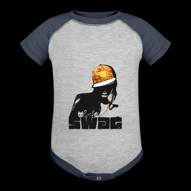 swag Glamour hiphop Street Gang Style swagg cool - Baby Contrast One Piece