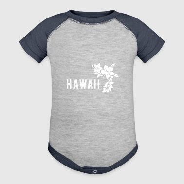 Hawaii - Baby Contrast One Piece