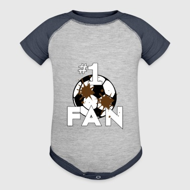 Soccer Fan - Baby Contrast One Piece