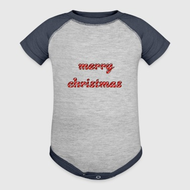 Cool Text merrychristmas 269671477455158 - Baby Contrast One Piece