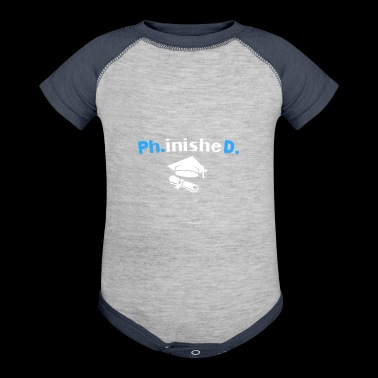 PhD Phinished 2018 PhD Graduation Gifts Tshirt - Baby Contrast One Piece