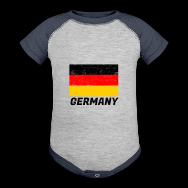 Flag Germany - Baby Contrast One Piece