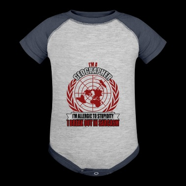I'm A Geographer T Shirt - Baby Contrast One Piece