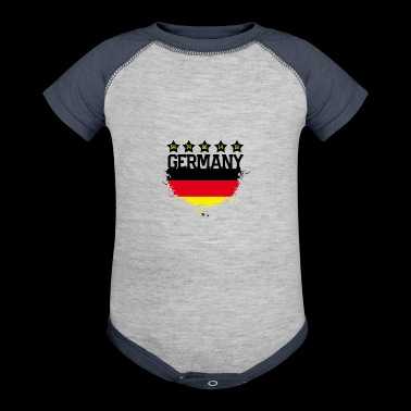 Germany Soccer Fan Shirt - Baby Contrast One Piece