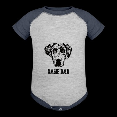 Dane Dad Great Dane - Baby Contrast One Piece