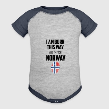 Norway - Baby Contrast One Piece