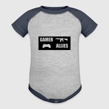 GAMER WEAR - Baby Contrast One Piece