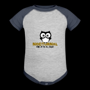 Nocturnal - Baby Contrast One Piece