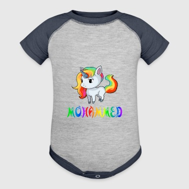 Mohammed Unicorn - Baby Contrast One Piece