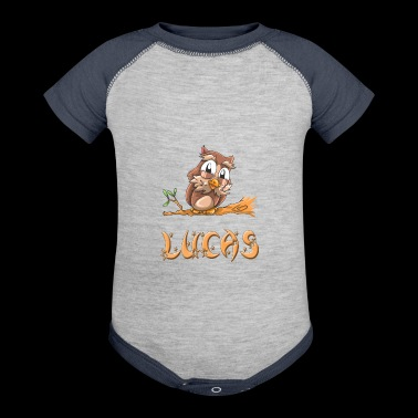 Lucas Owl - Baby Contrast One Piece