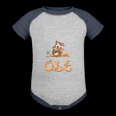 Ole Owl - Baby Contrast One Piece