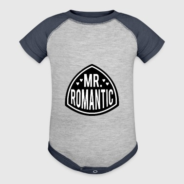 MR ROMANTIC - Baby Contrast One Piece