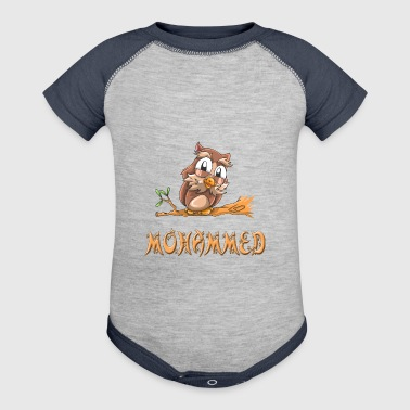 Mohammed Owl - Baby Contrast One Piece