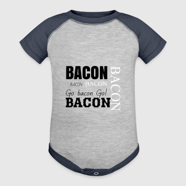 Bacon bacon and bacon - Baby Contrast One Piece