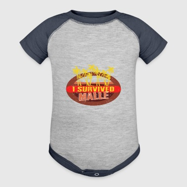 I Survived Malle - Malle Survivor T-shirt - Baby Contrast One Piece